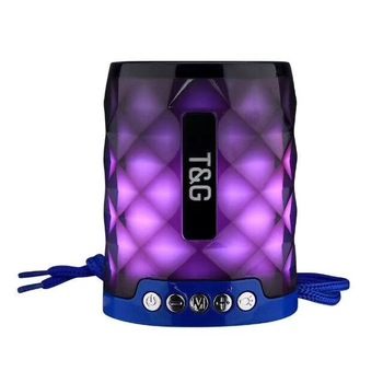 Explosion models TG155 colorful lights wireless Bluetooth outdoor portable card audio mini sports subwoofer speaker