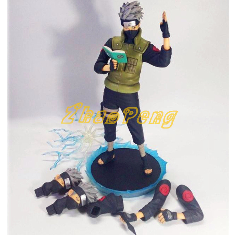30 CM Hatake Kakashi action figure modelling version Naruto anime figure High quality pvc kids toys Multi juguetes with box anime naruto pvc action figure toys q version naruto figurine full set model collection free shipping