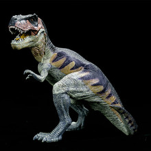Large Size Plastic Dinosaur Toy Model Action Anime Figures of Jurassic Park Sitting Tyrannosaurus Rex Toys For Children Gifts . new world park tyrannosaurus rex dinosaur plastic toy model kids gifts