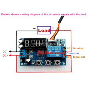 Image 3 - 12V High precision Intelligent Thermoregulator Thermostat Temperature Controller DS18B20 Sensor Delay Timer Time Relay Switch
