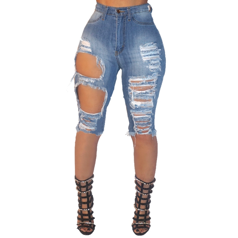 Black White Red Denim Shorts Lady Cotton High Waisted Fashion Button Pockets Skinny Women Hotpant Shorts Summer Sexy Jean Shorts