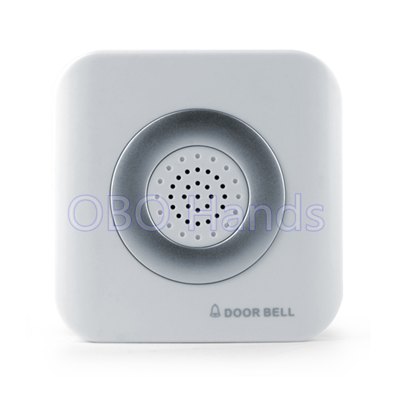 New arrival beautiful DC12V Wired Door Bell For Hotel/Apartment/house door access control system with 4 wires, no need battery digital electric best rfid hotel electronic door lock for flat apartment