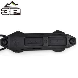 Image 3 - Pressostato remoto MLOK KEYMOD tattico per PEQ Scout arma luce doppio pulsante torcia da caccia PEQ Fit Picatinny Rail