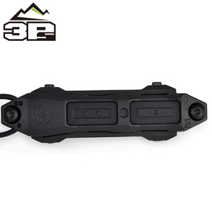 Image 3 - Tactical MLOK KEYMOD Remote Pressure Switch for PEQ Scout Weapon Light Dual Button Hunting Flashlight PEQ Fit Picatinny Rail