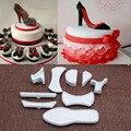 9 шт., формочка для торта на высоком каблуке, Инструменты для декорирования