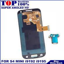 100% Tested AMOLED LCDs For Samsung Galaxy S4 Mini I9190 I9192 I9195 Phone LCD Display Touch Screen Digitizer Sensor Replacement(China)