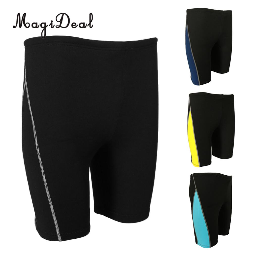 MagiDeal Mens 1.8mm Neoprene Warm Wetsuit Shorts Diving Short Pants For Winter Swimming Rowing Sailing Surfing Snorkeling