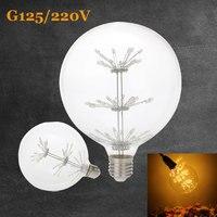 Led Filament Bulb E27 Retro Edison Lamp 3W 220V 240V G125 Star Energy Saving Glass Bulbs
