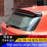 Для BMW 116i 120i 118i M135i F20 F21 2012 до 2018 Высокое качество 100% спойлер из углеволокна автомобиль изменение заднее крыло спойлер