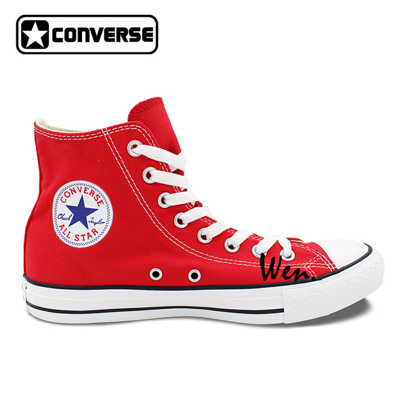 converse girls shoes. aliexpress.com : buy red sneakers women men converse all star boys girls shoes fifth harmony design custom hand painted canvas gifts from