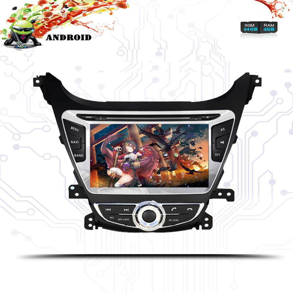 2 din 4G RAM 64G Android 9 0 автомобильный DVD GPS навигация мультимедийный плеер стерео для