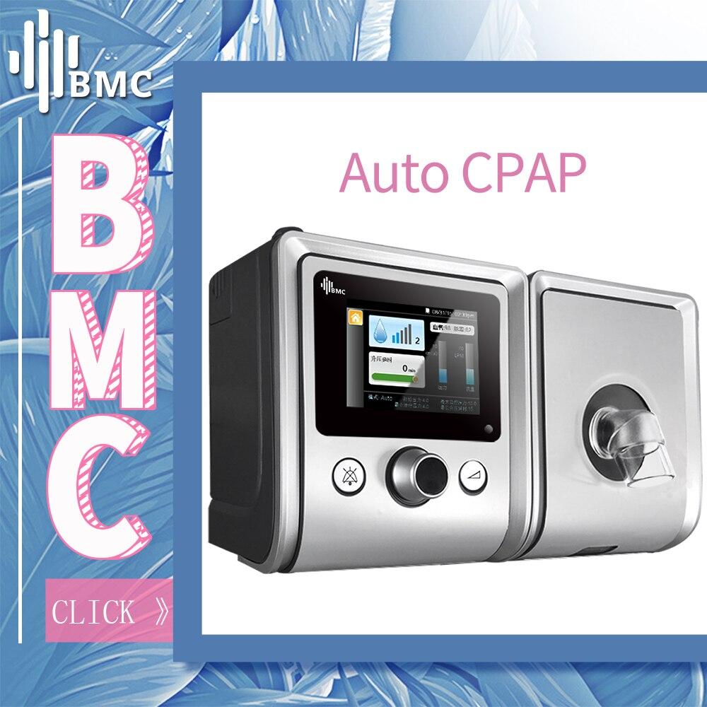 BMC GII Авто-СИПАП-машина Для пациентов с апноэ и храпом поздравоохранениис увлажнитель маской деталии SD Картой Бесплатная Доставка