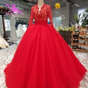 Image 1 - AIJINGYU, vestido de novia brillante, vestidos de novia, tallas grandes reales, encaje cerca de mí, fabricante de trajes, vestidos de boda de verano