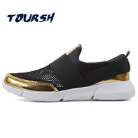 2018 Summer Mesh Breathable Women Casual Shoes Sneakers Female Loafers Slip On Ultralight Women Ladies Flat