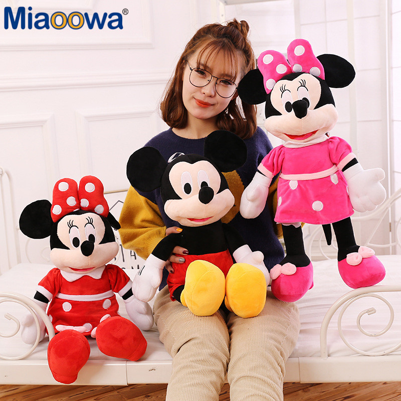 Mickey&Minnie Mouse High Quality Plush Stuffed Toy  1