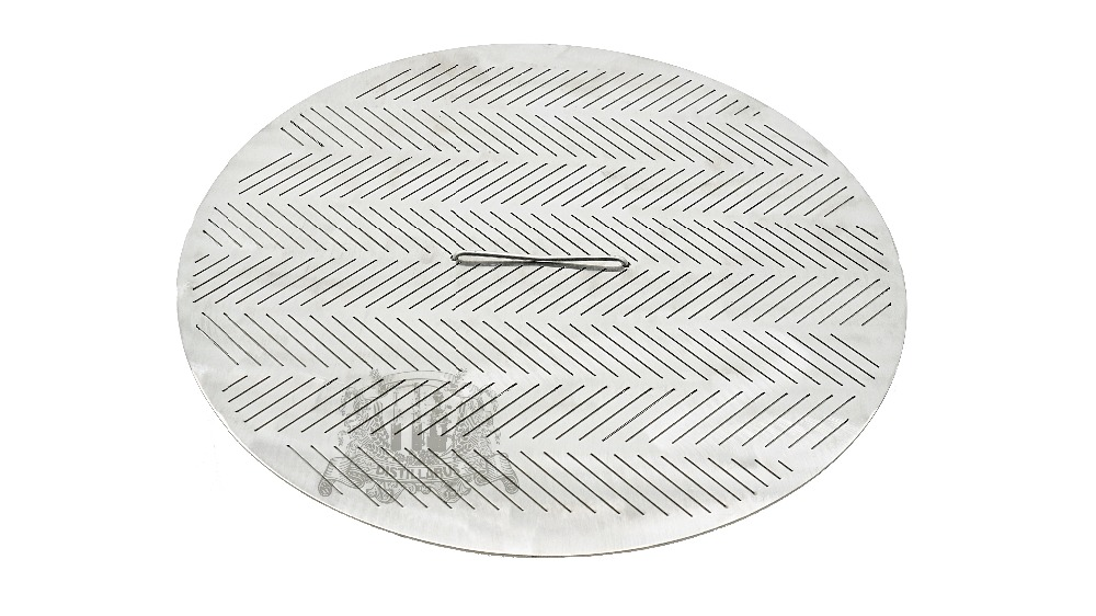 NEW Slit False bottom 345mm 2 mm thickness cut size 08mm with handle  Stainless steel 304