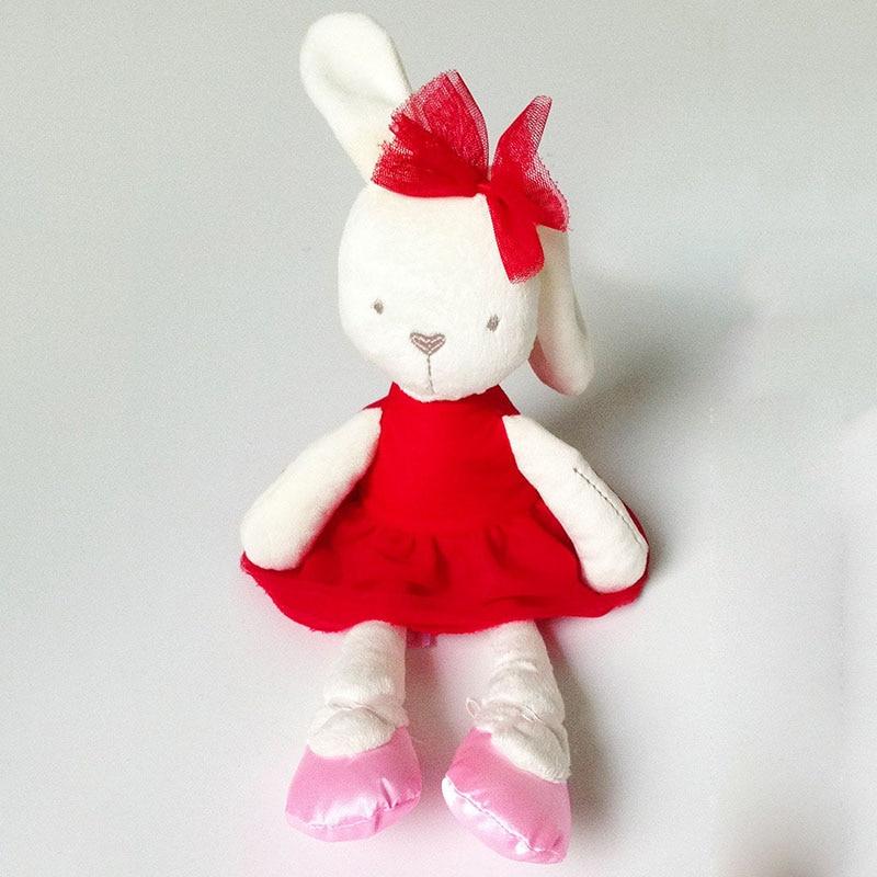 red cloth rabbit