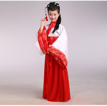 лучшая цена Children's clothing Hanfu female costume nunnery Ancient Chinese Literature Search scholar class three character classic