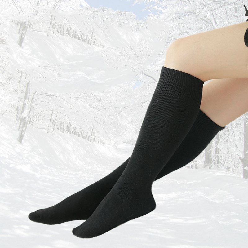 Provided 1 Pair New Hot Men Solid Winter Warm Sock Unisex Male Knee Long Leg Fashion Casual Thick Slimming Cotton Long Socks Selling Well All Over The World Underwear & Sleepwears