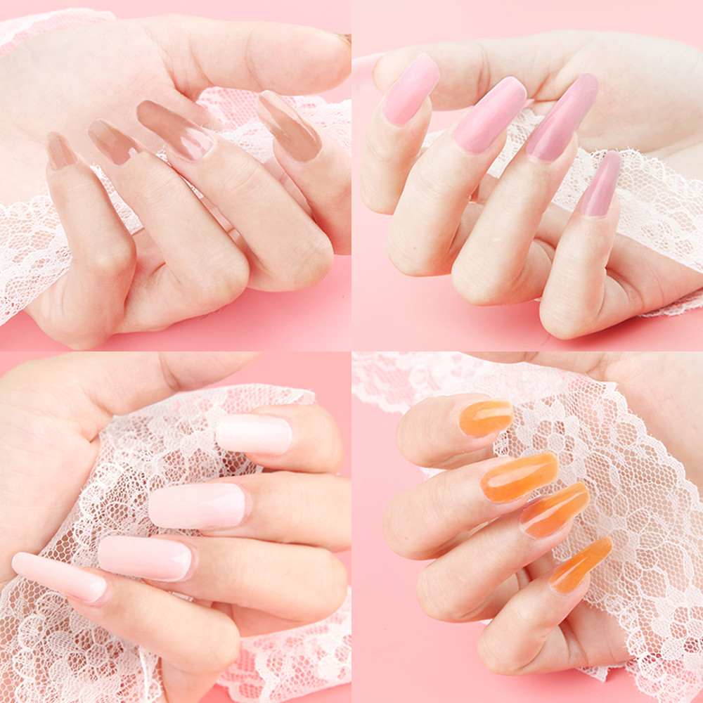 New Nail Gel Tips Extension Camouflage Diy Builder Lack Glue 2018 In From Beauty Health On Aliexpress Alibaba Group