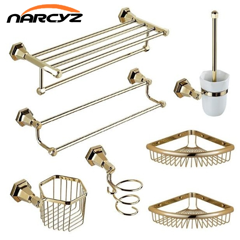 Copper bathroom Series European Modern Copper Towel Ring/ Toilet Paper Holder/Cup Holder/Soap Dish/Towel Bar/Robe Hook XT1011 towel ring black towel holder towel bar bathroom accessories set paper holder luxury toilet brush holder robe hook soap dish