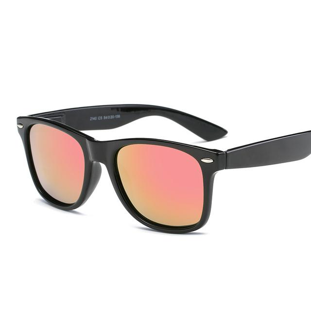 Fashion Sunglasses Men Polarized Sunglasses Men Driving Mirror Coating Points Black Frame Eyewear Male Sun Glasses UV400