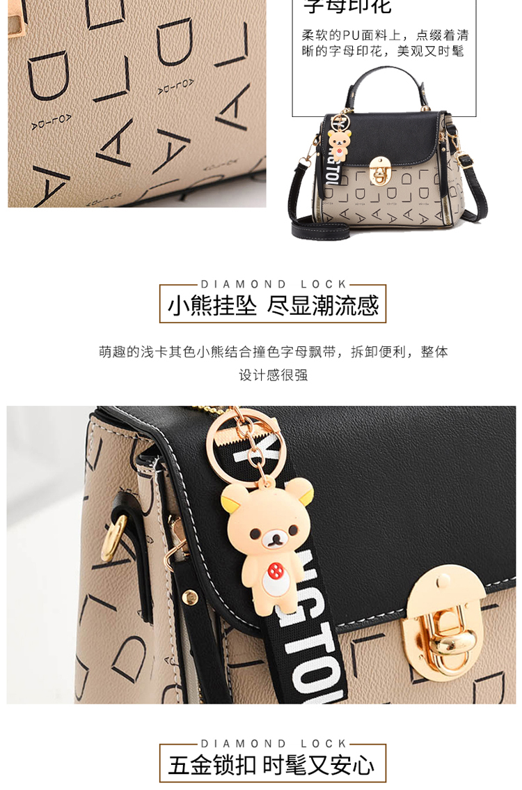 Popular Woman Handbags Fashion Leather Messenger Bag Trendy new one-shoulder diagonal small square bag Bolsa Feminina louis gg 49