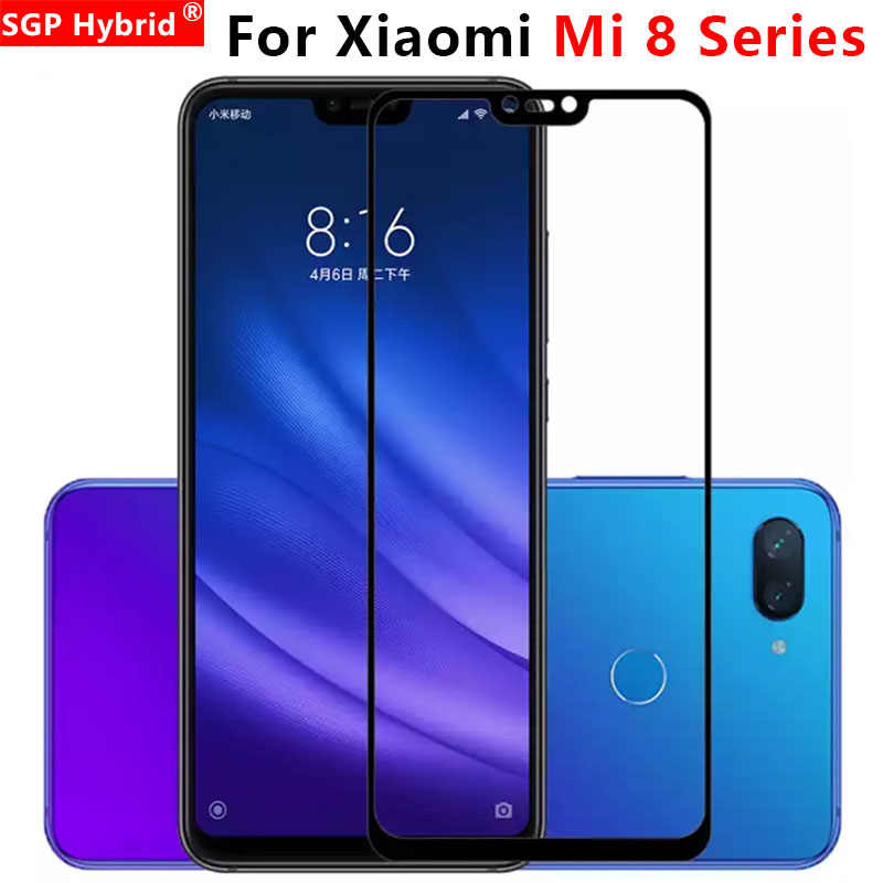 Protective Glass For Xiaomi Mi 8 Se Pro Lite Explorer Tempered Glas Case On Ksiomi Xiomi Xiami Xaomi Mi8 Screen Protector light