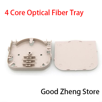 4 Cores Mini Fiber Optic Splice Tray,Fiber Splice Tray,Splice Tray,Optic Terminal Box 10 PCS /LOT