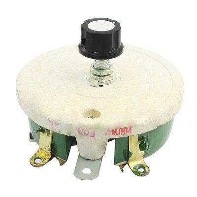 200W 500 Ohm Ceramic Wirewound Potentiometer Rotary Resistor Rheostat