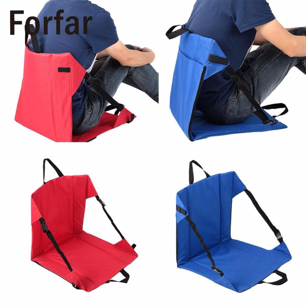 Forfar Super-light Portable Folding Camping Picnic Outdoor Beach <font><b>Chair</b></font> Side Table For Drink Hiking Fishing BBQ Stool Seat Tool