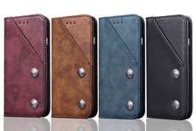 цена на Luxury Wallet PU Leather Case with Stand and Card Holder Phone Bag Flip Cover for iPhone 6 6S 8 7 / Plus S8 S8+ NOTE 8