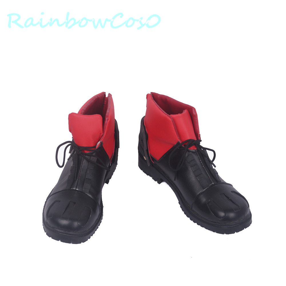 RainbowCos0 Free Ship Cosplay Shoes My Hero Academia Bakugo Boku no Hero Academia Izuku Midoriya Boots Prop Game Anime Halloween