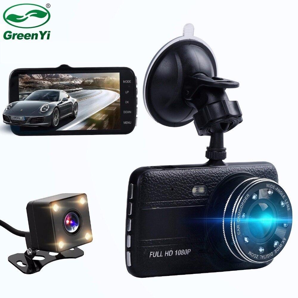 Car-Dvr-Recorder Vehicle-Camera Recording Parking-Monitor Rear Full-Hd 1080P Front 170-Degree