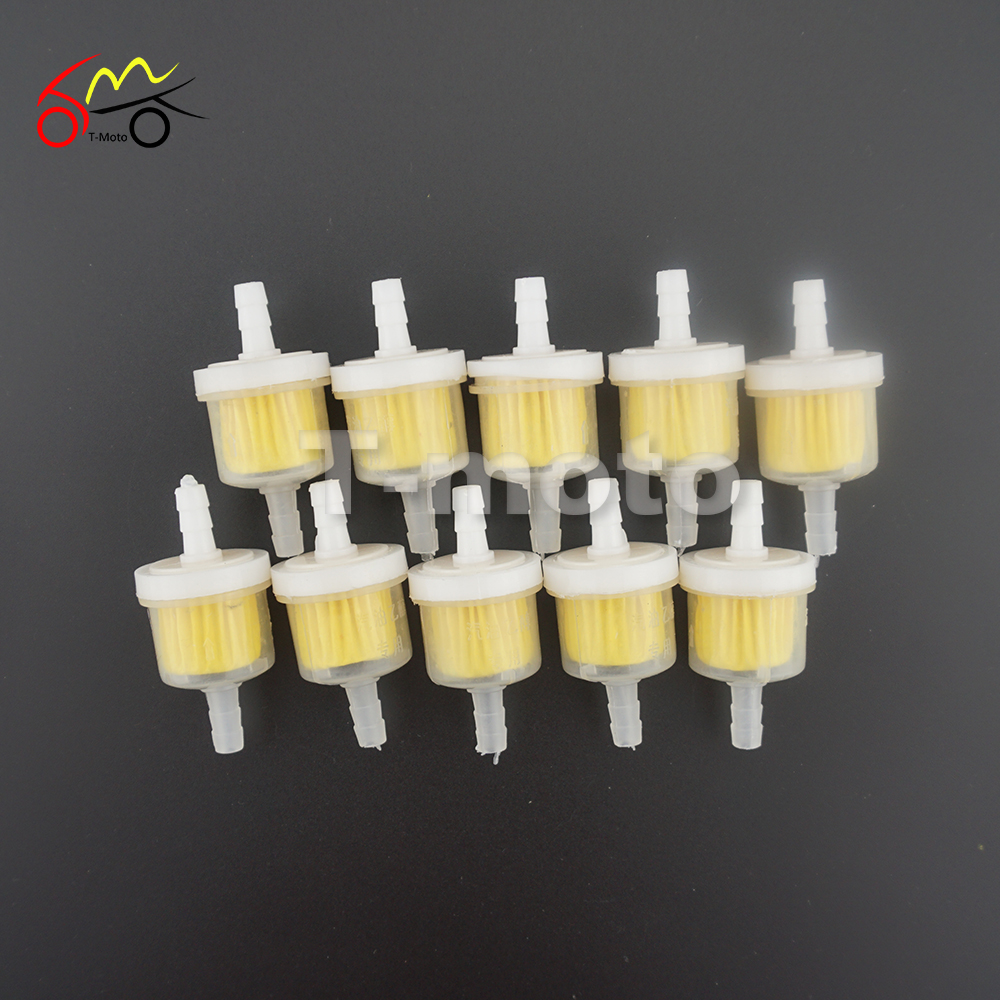 10pcs Universal Motorcycle Small Engine Fram Plastic Fuel Gas Performance Filter Gasoline With Magnet In Oil Filters From Automobiles Motorcycles On