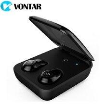 VONTAR Mini Twins True Wireless Earbuds Stereo TWS Bluetooth 4.1 Wireless Earphones Headset in Ear with Charging Box Power Bank