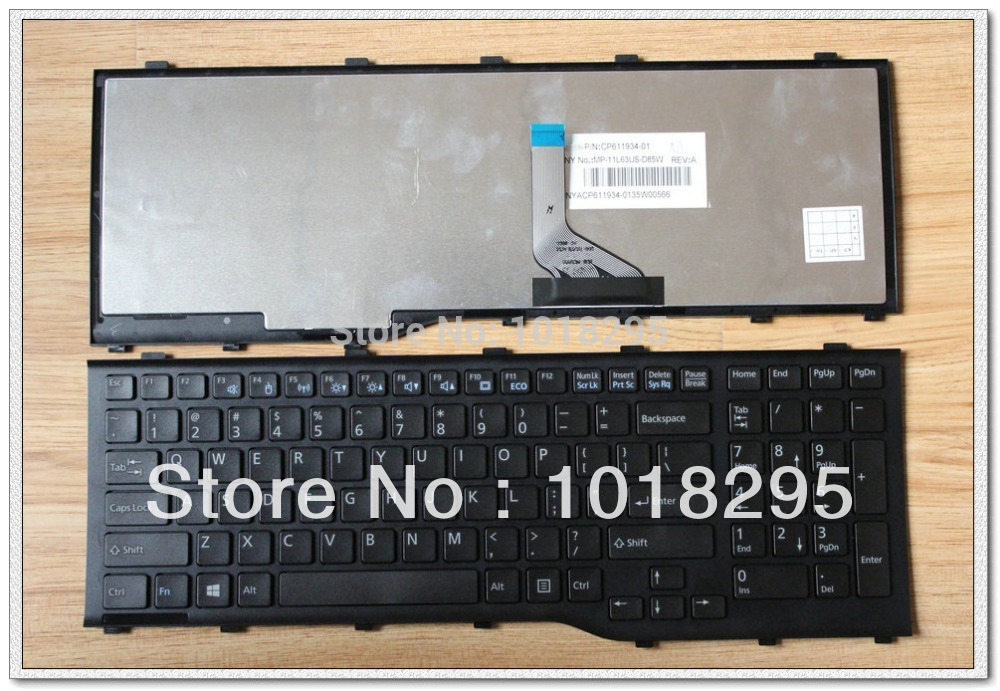 купить New For Fujitsu Lifebook AH532 A532 N532 NH532 MP-11L63US-D85 CP569151-01 Series US laptop Keyboard Teclado Black по цене 1153.92 рублей