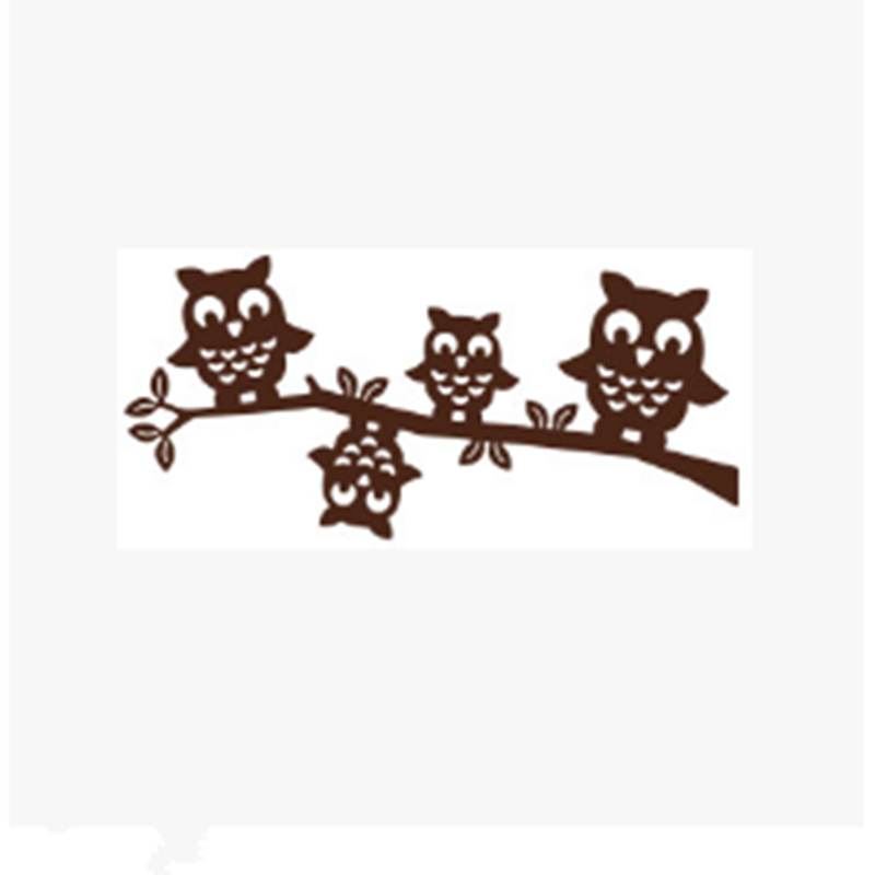 YLCD646 Owl Metal Cutting Dies For Scrapbooking Stencils DIY Album Paper Cards Decoration Embossing Folder Die Cutter Template