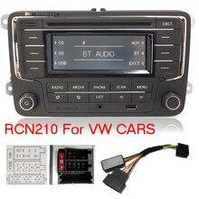 Автомагнитола стерео RCN210+ декодер кабель Bluetooth CD MP3 USB AUX SD для Volkswagen Golf Passat TOURAN Polo TIGUAN Caddy EOS