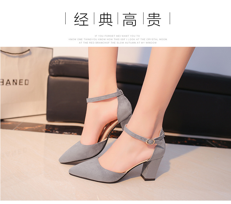HTB1ReLdamBYBeNjy0Feq6znmFXab 2019 Fashion High Heels Newest Women Pumps Summer Women Shoes Thick Heel Pumps Comfortable Shoes Woman Platform Shoes s0013
