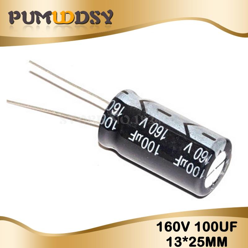 Lot of 10 Electrolytic Capacitors 0.47uF 160V