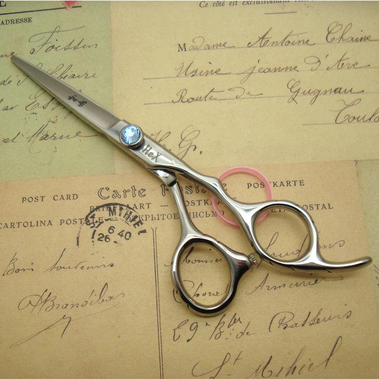 free ship! professional hair scissors high qualityJapanese 440C hair cutting scissors  5.5 jiangsu seedlings 12