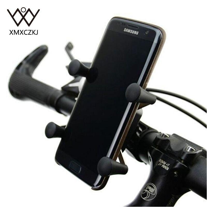 Nueva Versión Universal Rotación de 360 Grados X-Grip Clamp Soporte Para Bicicle
