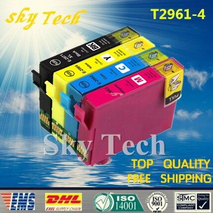 T296 Compatible Ink cartridges Suit for T2961 T2962 T2963 T2964 , Suit for Epson XP-241 / XP-231 / XP-431 / XP-441