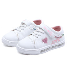 Spring Kids Casual Shoes Sneakers Boys Girls Sport Toddler Little Big Cute Letters