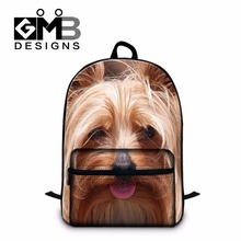 College Students School laptop Backpacks,Personalized Dog Pattern back pack,cute mochila for girls,boys stylish bookbag day pack