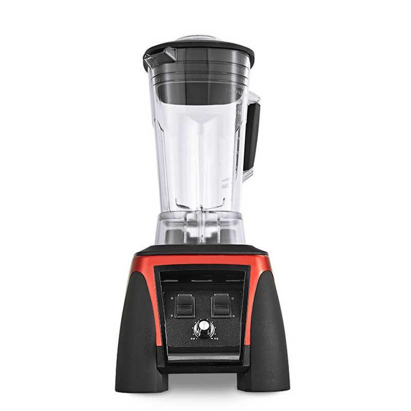 UE/EUA/REINO UNIDO/AU Plug 3HP BPA Livre 2200W Heavy Duty Commercial Blender Misturador Juicer Alta processador de Alimentos de energia Smoothie de Gelo Barra de Frutas