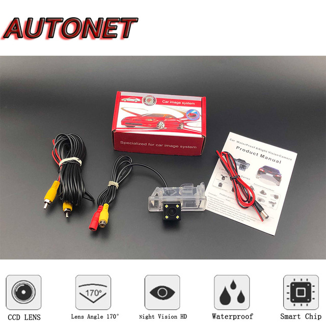 AUTONET Backup Rear View camera For Mercedes Benz Sprinter 2006~2012 Night Vision parking camera license plate camera or bracket