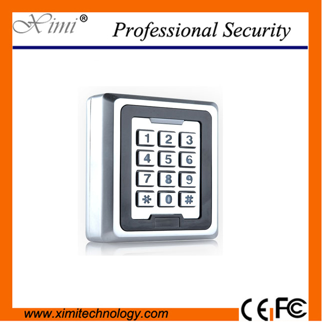 High Quality Ip68 Waterproof Single Door Standalone 8000 User Rfid Card Reader M03 With Key Access Control surface waterproof metal key access control card reader standalone 8000 users single door 125khz rfid em card access controller