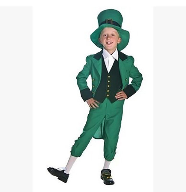 image  sc 1 st  Aliexpress & Online Shop Irish Family Group Children Leprechaun Costume Idea St ...